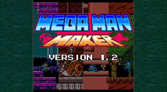 Mega Man Maker – Version 1.2 is now available for download