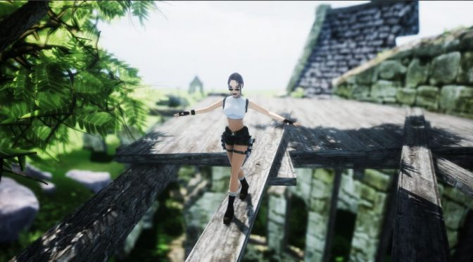 Someone is working on a fan remake of Tomb Raider 3 in Unity Engine