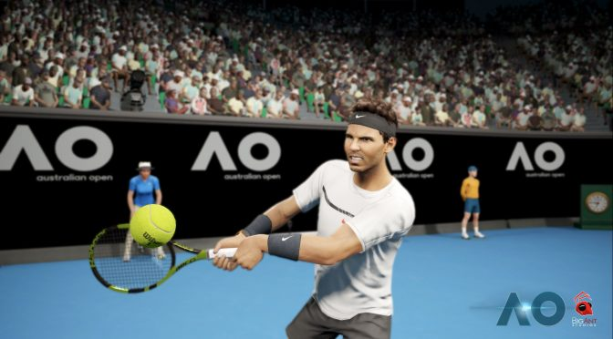 Here is the first gameplay trailer for AO Tennis