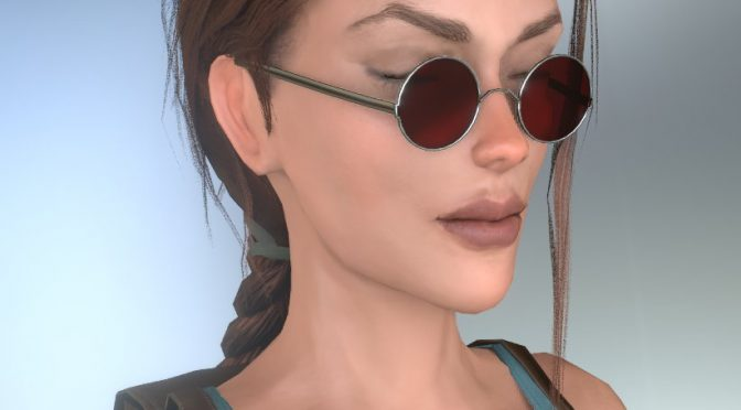 Here is an updated version of Lara Croft's 3D model for the Tomb Raider 3 fan remake in Unity Engine