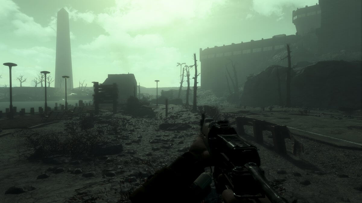 Fallout 3 remake in Fallout 4 Engine screenshot