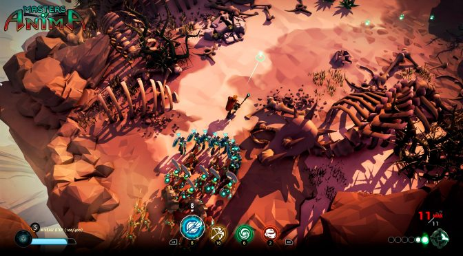 Masters of Anima, isometric strategic adventure game, gets a debut gameplay trailer