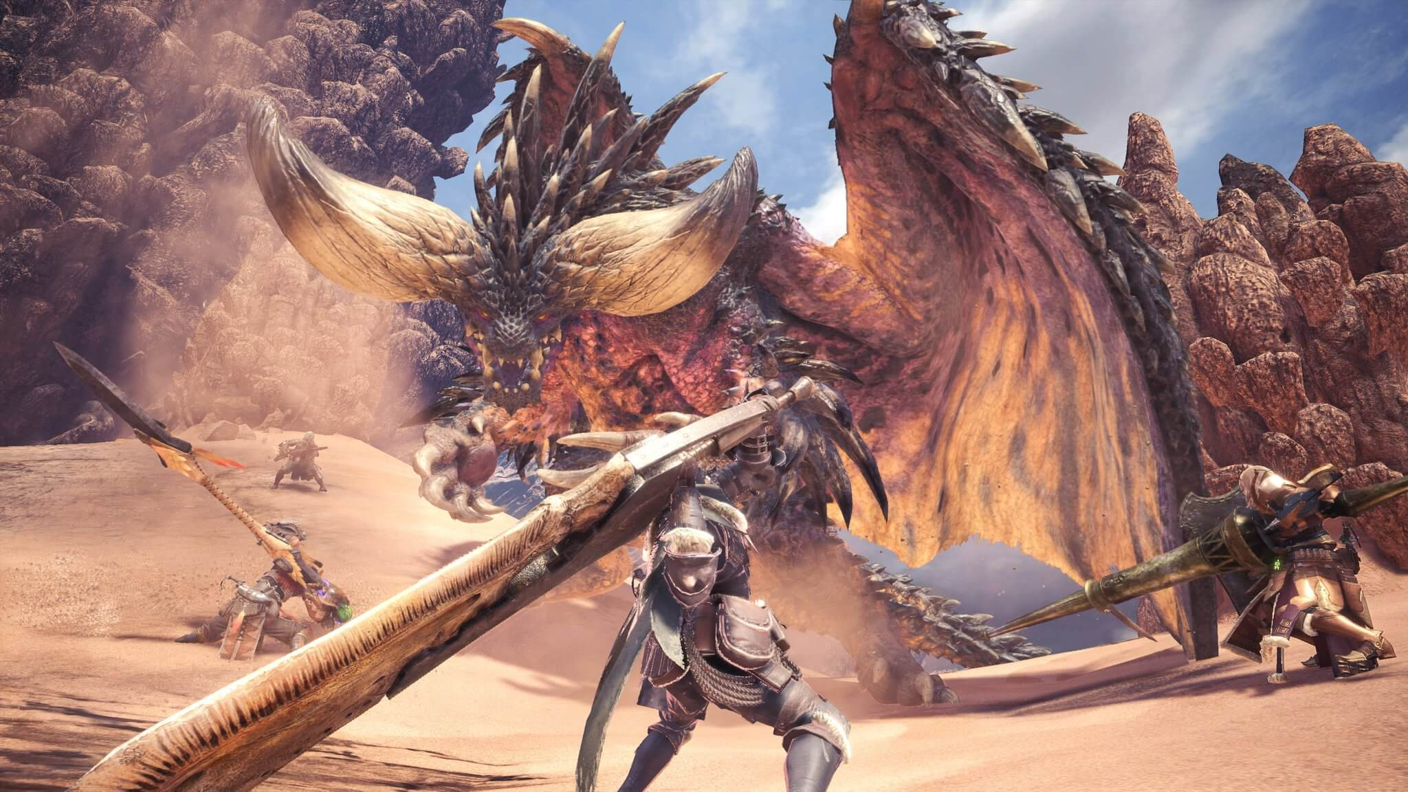 Capcom Explains The Reasons Why Monster Hunter World Is Cpu Heavy