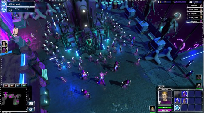 Re-Legion, new futuristic cyberpunk real-time strategy, releases in Fall 2018