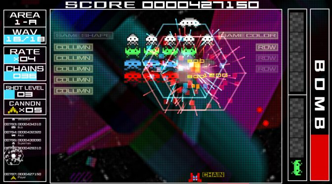 Space Invaders Extreme PC demo is now available for download