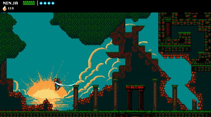 The Messenger is a new ninja action platformer that pays tribute to 8bit/16bit platformers and Ninja Gaiden