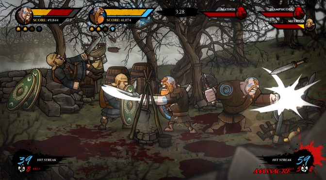 2D side-scrolling brawler, Wulverblade, is now available