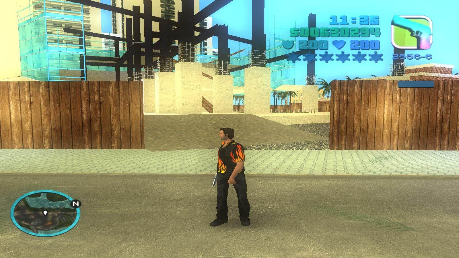 GTA Vice City Modern mod version 1 2 adds new textures and HD grass