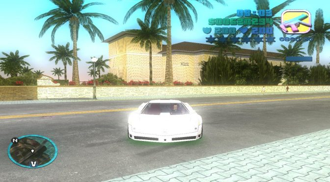 GTA Vice City Modern mod version 1.2 adds new textures and HD grass, features LOD fixes