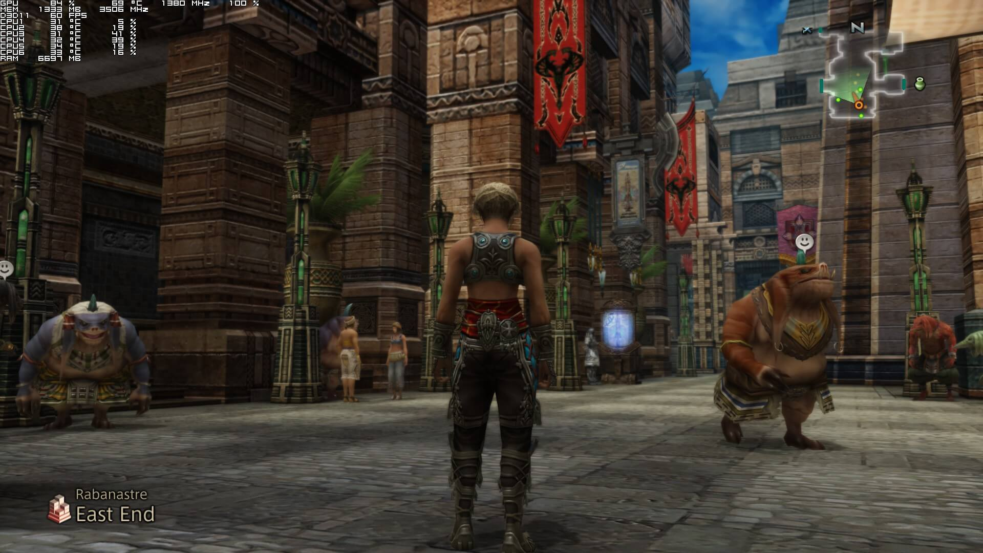 Final Fantasy XII The Zodiac Age PC Performance Analysis - DSOGaming