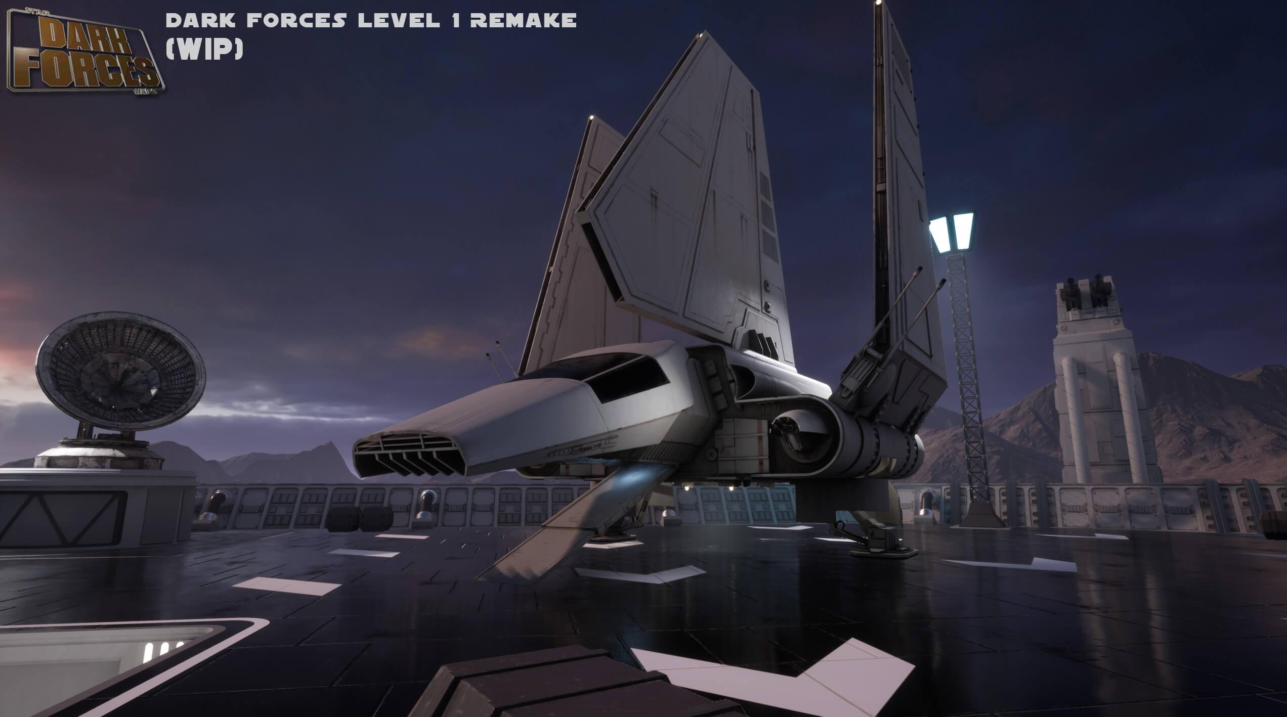 Игры по Звездным Войнам: Художник Obsidian создает ремейк шутера Star Wars 1995 года