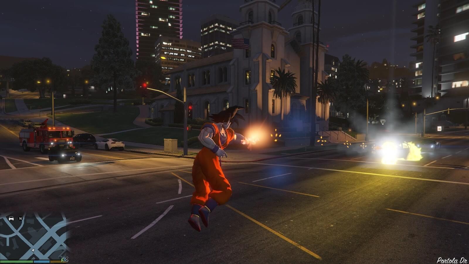 Dragon Ball comes to Grand Theft Auto V thanks to this amazing mod