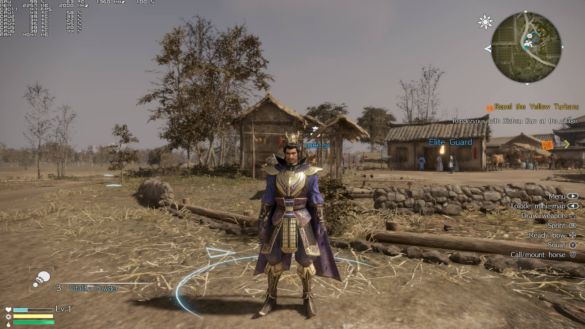 Dynasty Warriors 9 Update 1.03 Improves PS4 Framerate