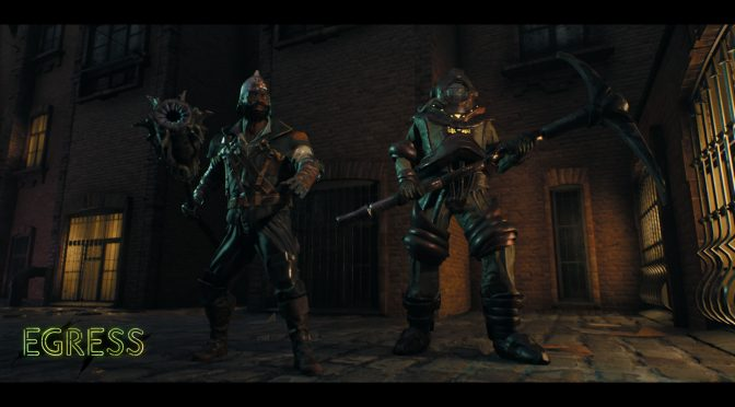 Here are three minutes of gameplay from battle royale RPG with Souls-like combat system, Egress