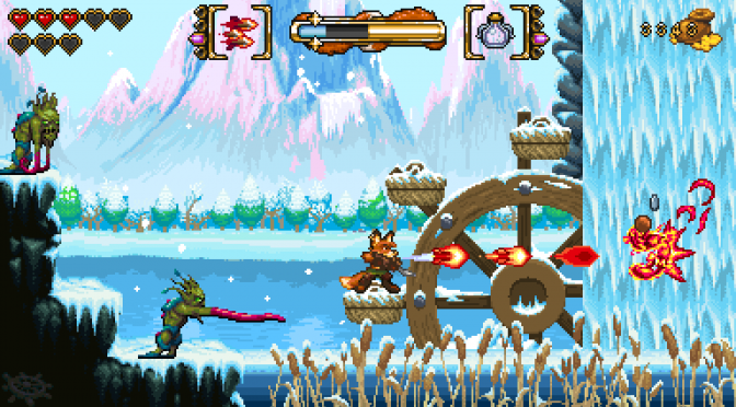 16-bit action platformer, FOX n FORESTS, releases on May 17th