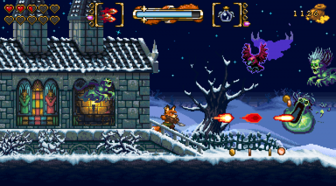 New gameplay trailer released for 16-bit action platformer, FOX n FORESTS