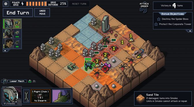 New strategy game from the creators of FTL, Into the Breach, gets launch trailer, releases tomorrow