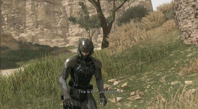 This mod brings Raiden from Metal Gear Solid 4 to Metal Gear Solid V: The Phantom Pain