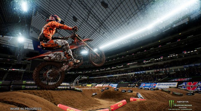Monster Energy Supercross – The Official Videogame is now available, official PC requirements