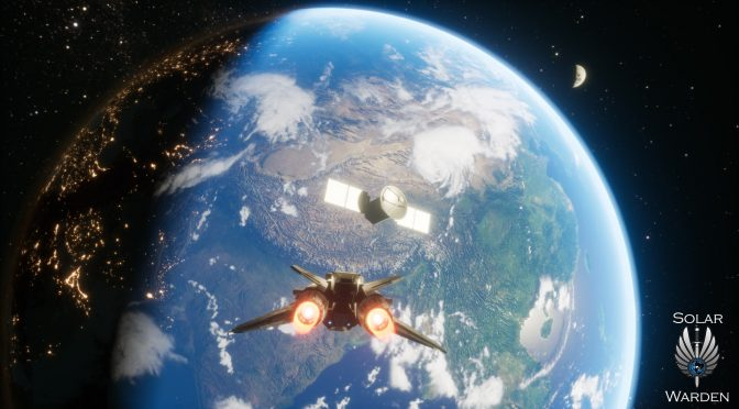 Demo available for Solar Warden; space combat game from Star Citizen's ex-lead technical designer
