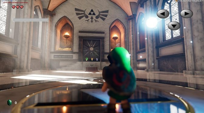 Zelda Ocarina Of Time Temple of Time HD recreated in Unreal Engine 4, available for download