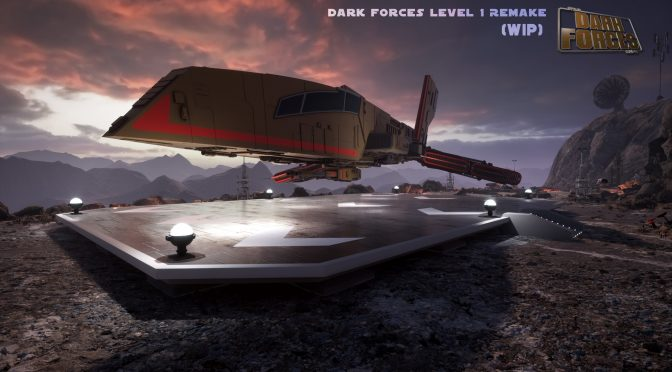 "New incredible screenshots from Star Wars 1995 ""Dark Forces"" Level 1 fan remake in Unreal Engine 4"