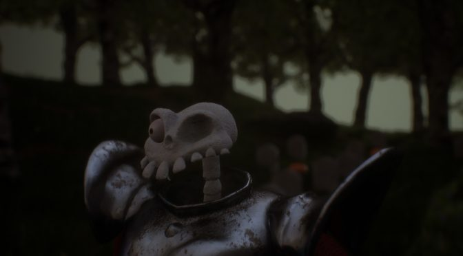 MediEvil's The Graveyard map recreated in Unreal Engine 4