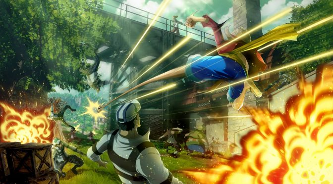 One Piece World Seeker gets some new screenshots, showcasing the Jail Island