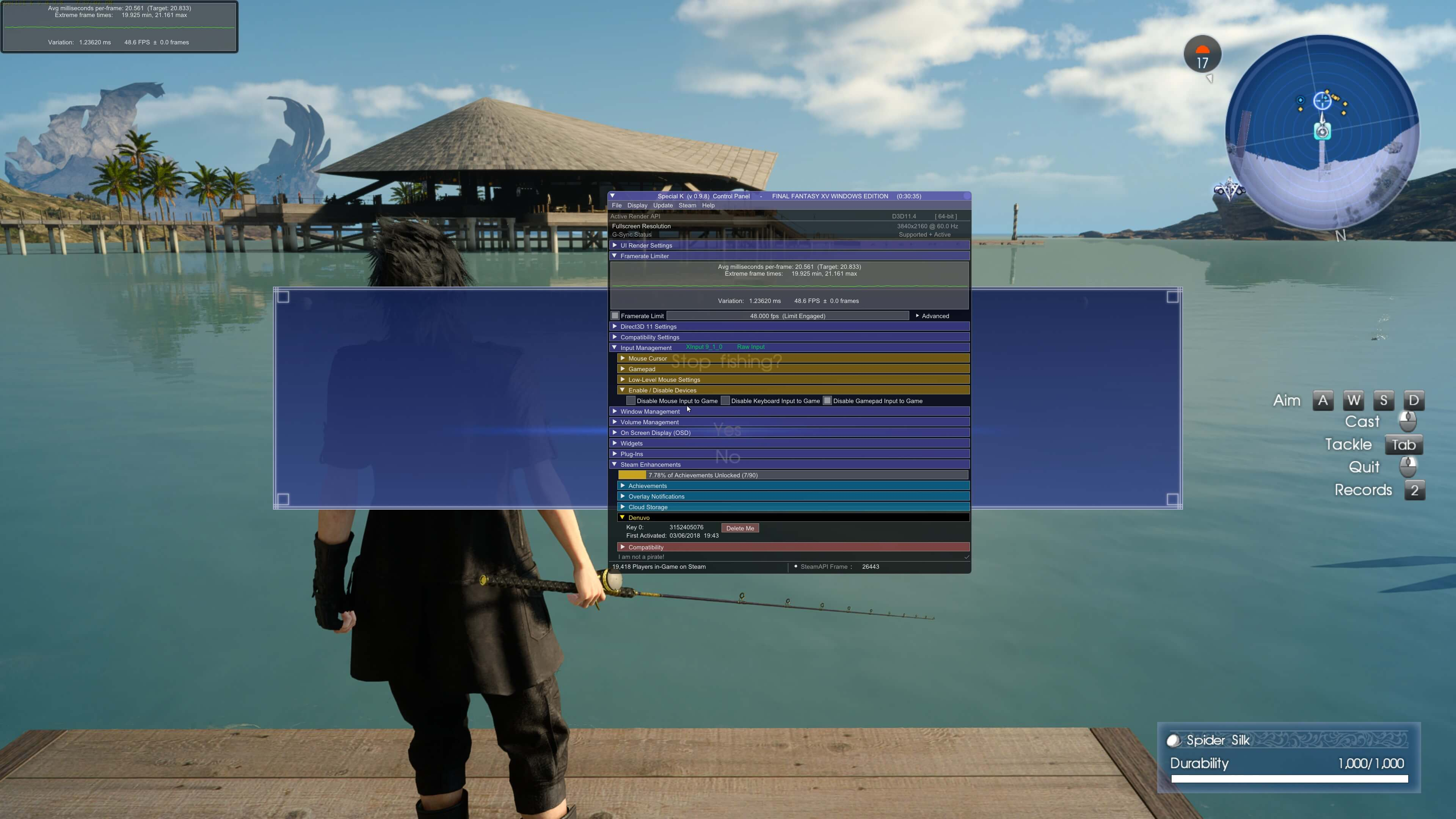 The first mod for Final Fantasy XV improves loading times