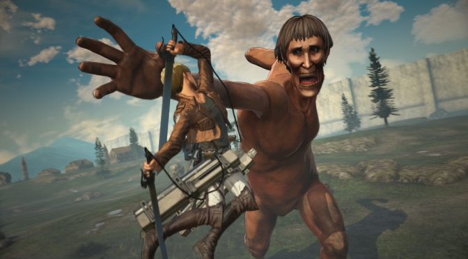 New Attack on Titan 2 trailers highlight custom characters and combat mechanics