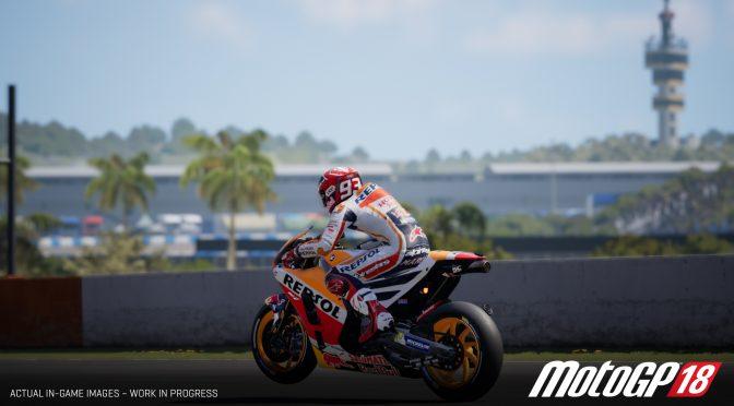 MotoGP 18 gets a new gameplay trailer