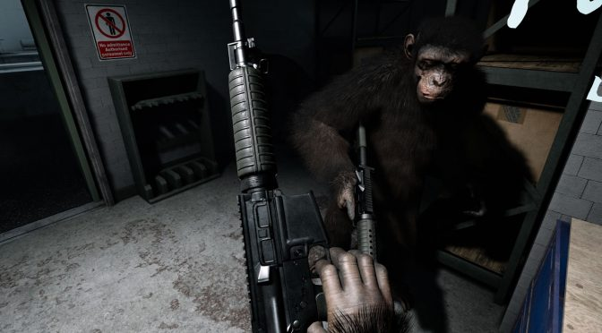 Crisis on the Planet of the Apes VR releases on April 3rd