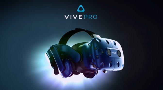 HTC Vive Pro headset releases on April 5th, will be priced at $799, will support 2880×1600 resolution combined