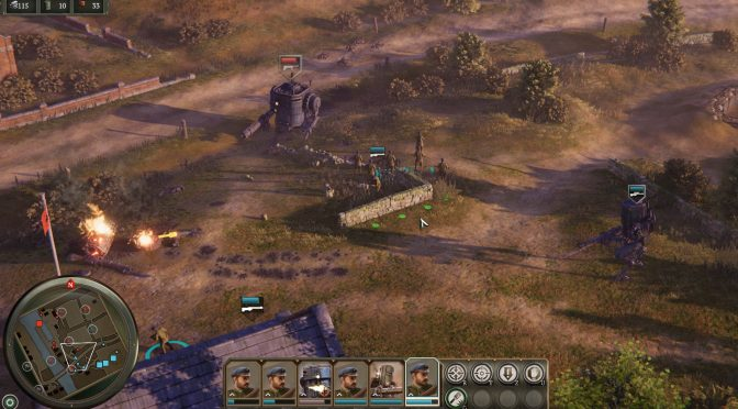 First look demo for Iron Harvest is now available for download, multiplayer demo coming in December
