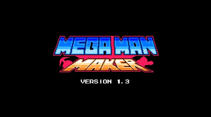 Mega Man Maker 1.3 is now available for download