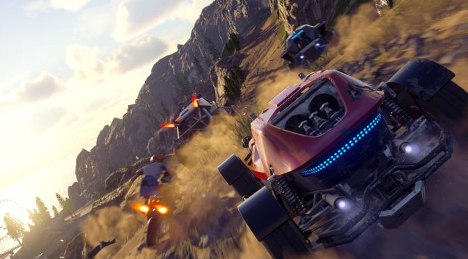 New official gameplay trailer released for ONRUSH + fan-made comparison video between Motorstorm