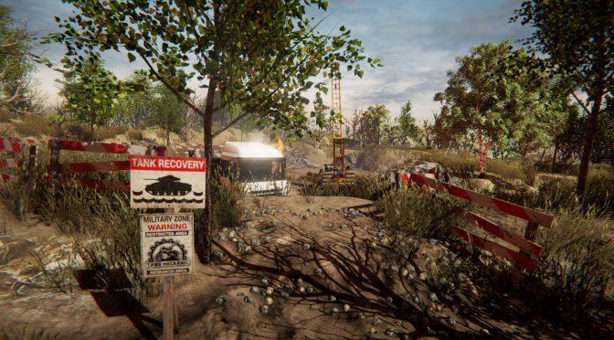 Tank Mechanic Simulator's incredible real-time terrain
