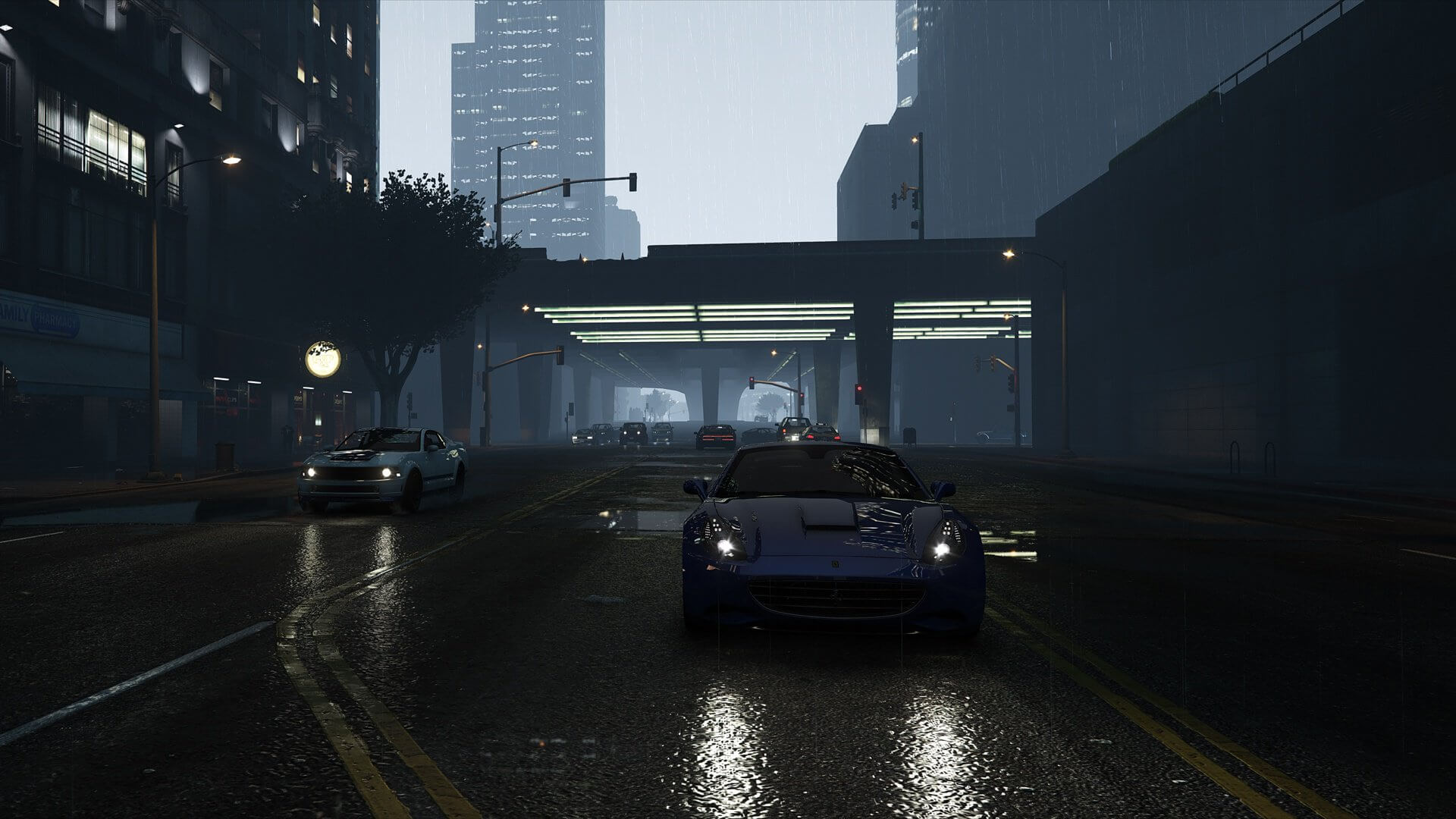 Grand Theft Auto 5 NaturalVision Remastered Mod looks gorgeous and