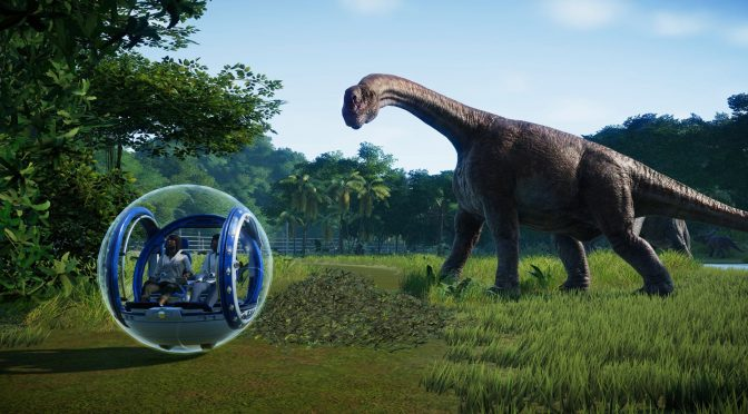 Jurassic World Evolution will be using the Denuvo anti-tamper tech