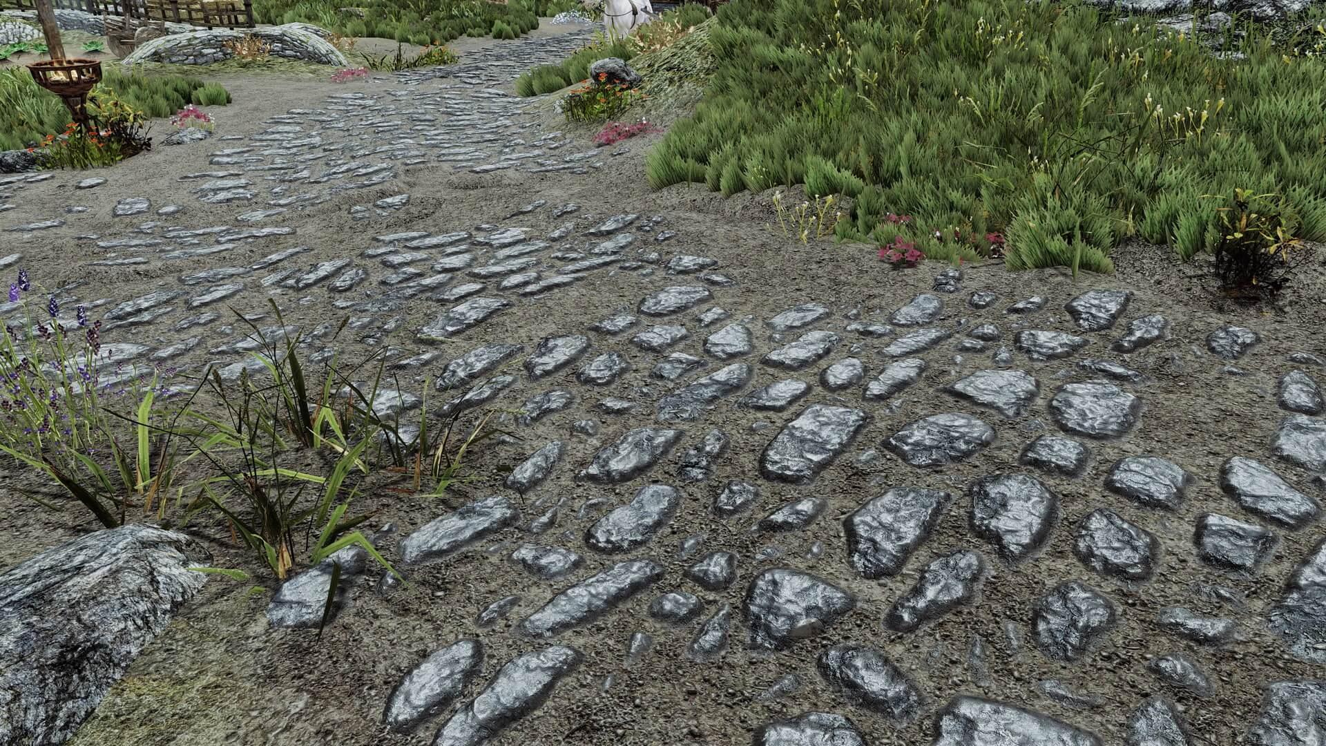 Skyrim Landscape Overhaul HD replaces all landscape textures