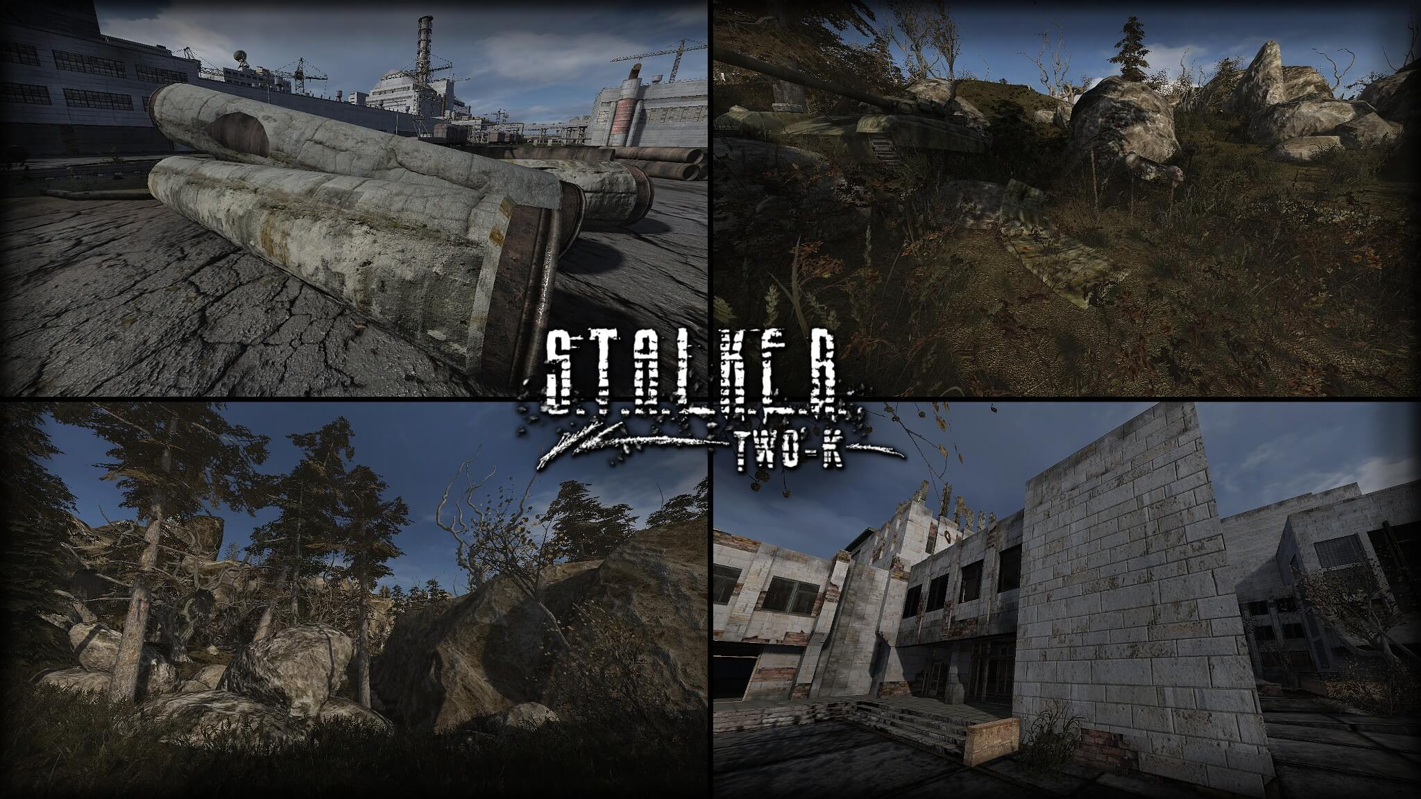 New S T A L K E R : Call of Pripyat 5GB HD fan texture pack