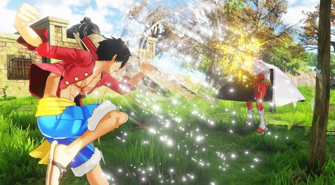 New One Piece World Seeker screenshots focus on Germa 66 and the Vinsmoke Family
