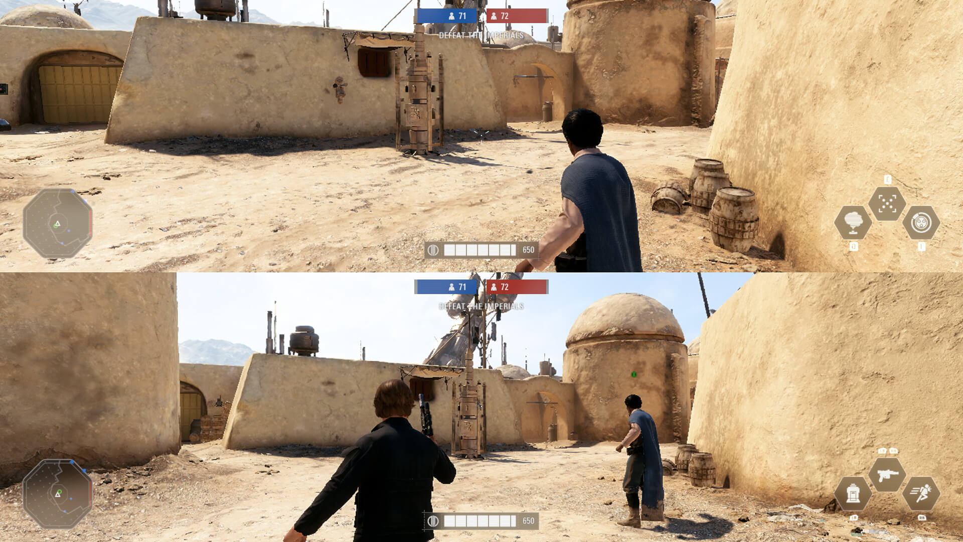 This Mod Adds Split Screen Support To The Pc Version Of Star Wars Battlefront 2