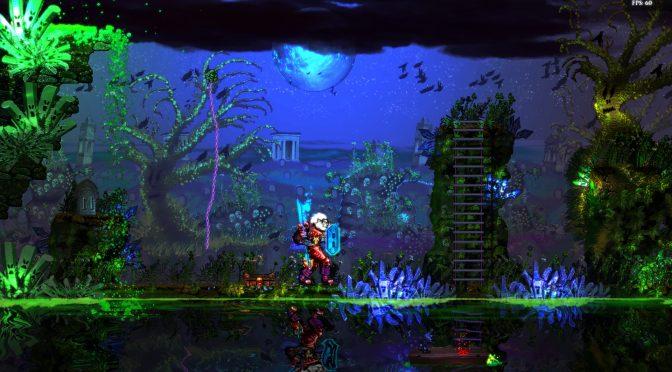 Corpses 'N Souls tech demo showcases real-time 2D per pixel destruction, liquid simulation and more