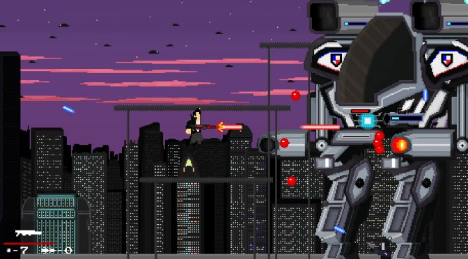 Gun Rage is an old-school, fast-paced, side-scrolling, run and gun 16-bit game that releases this Summer