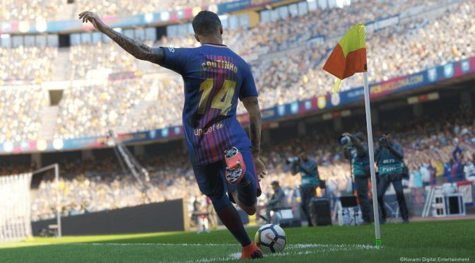 Pro Evolution Soccer 2019 Data Pack 2.0 is now available, new update brings gameplay improvements
