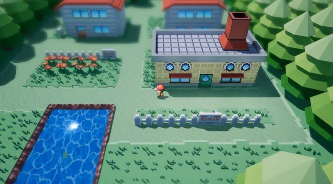 Someone has recreated Pokemon's Pallet Town in Unreal Engine and it looks super retro-cool