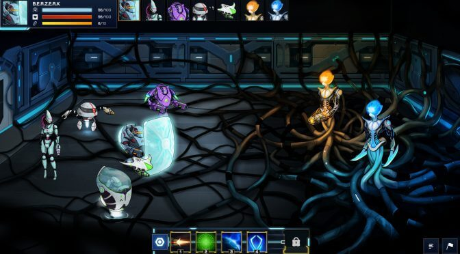 Open beta weekend launched for futuristic turn-based rogue-like RPG, Robothorium