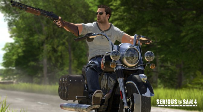 New screenshot and teaser trailer revealed for Serious Sam 4: Planet Badass