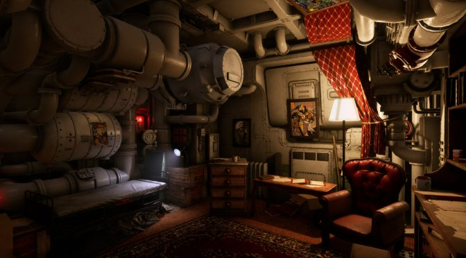 Someone has recreated Wolfenstein 2's Bombate's room in Unreal Engine 4 and it looks really cool